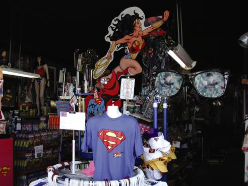 The Americana Hollywood Museum and Super Museum collectables in Metropolis